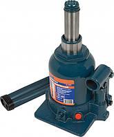 Домкрат гидравлический бутылочный, 2поршня, 4т, h160-390мм