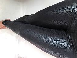 Принтованные трикотажные лосины НА ФЛИСЕ N° 091, фото 3