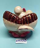 Статуэтка-Пепельница керамическая с символом 2020 года Крысы 5,5*10,5 см, фото 6