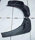 Передние брызговики Nissan Qashqai 2007-2013, 2 шт, фото 4