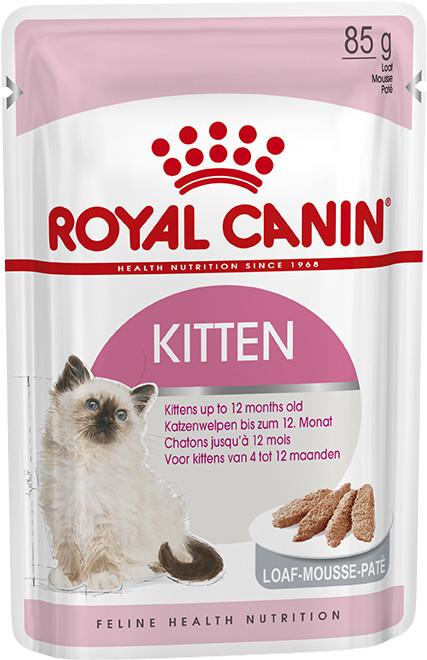 Влажный корм для котят Royal Canin Kitten Instinctive паштет 85 г