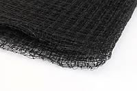 Сетка вольерная AGREEN чёрная 1,5х200 м, (ячейка: 22х22 мм, плотность: 45 г/м.кв)
