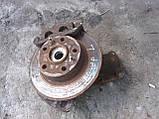 Поворотный кулак передний левый (ступица в сборе) Peugeot Boxer Citroen Jumper Fiat Ducato суп. диск, фото 4
