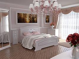 """Меблі в спальню """"Інеса"""" від Неман (білий супермат)."""