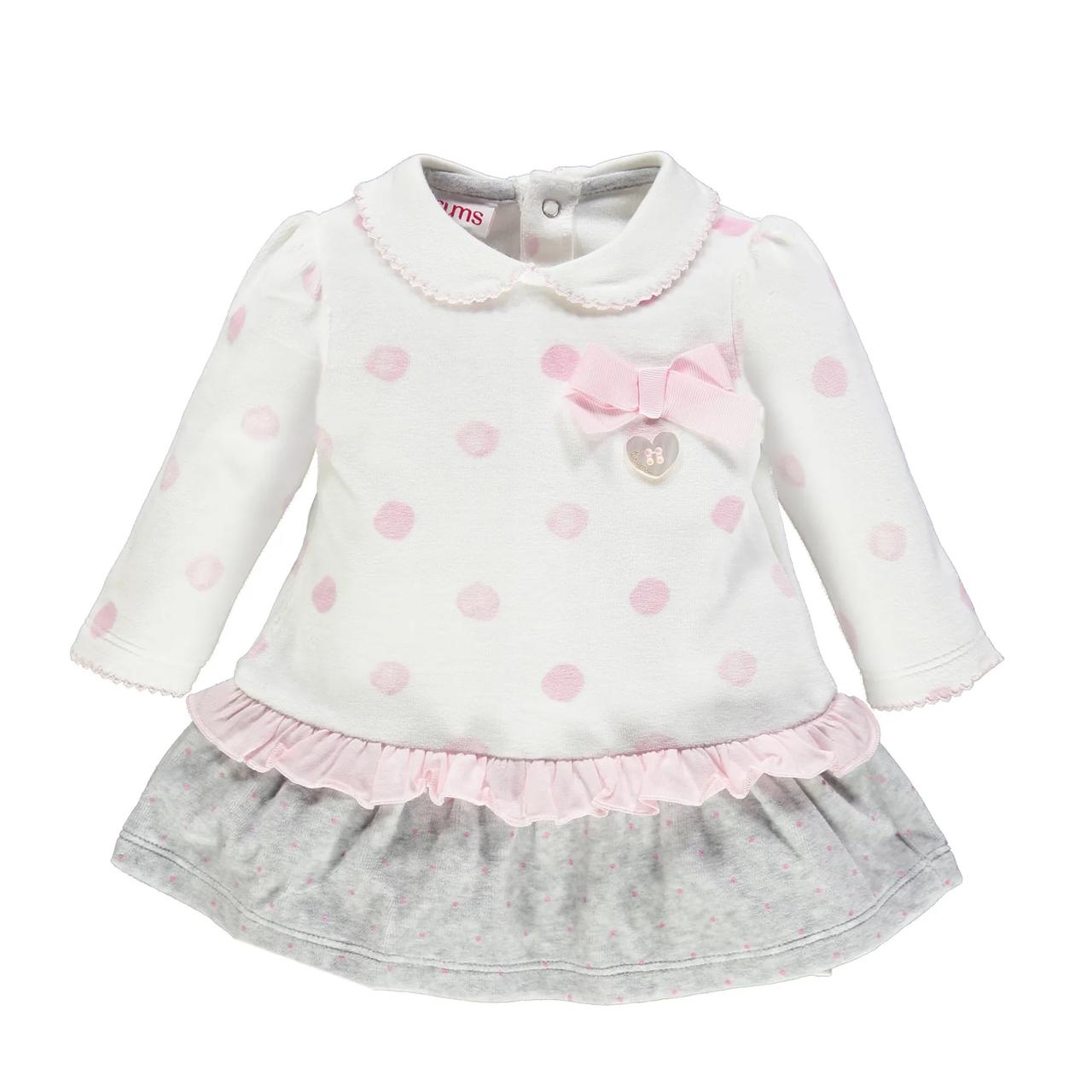 Платье для девочки BRUMS   193BCIM002-804  белое 74