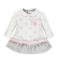 Платье для девочки BRUMS   193BCIM002-804  белое 74, фото 1