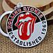 Брелок Роллинг Стоунз The Rolling Stones, фото 3