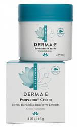 Крем від псоріазу Psorzema з вітамінами А і Е 113 г Derma E США, офіційний сайт