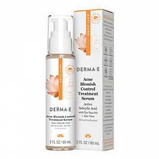 Терапевтична анти акне протизапальна сироватка 60 мл Derma E США, офіційний сайт