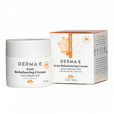 Противоугревой відновлюючий крем з саліцилової кислотою 56 р Derma E США, офіційний сайт
