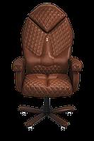 Кресло офисное эргономичное KULIK SYSTEM DIAMOND Коричневый
