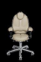 Детское эргономичное кресло KULIK SYSTEM TRIO Песочный