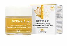 Яскравий цитрусовий пілінг для обличчя з вітаміном C 56 р Derma E США, офіційний сайт