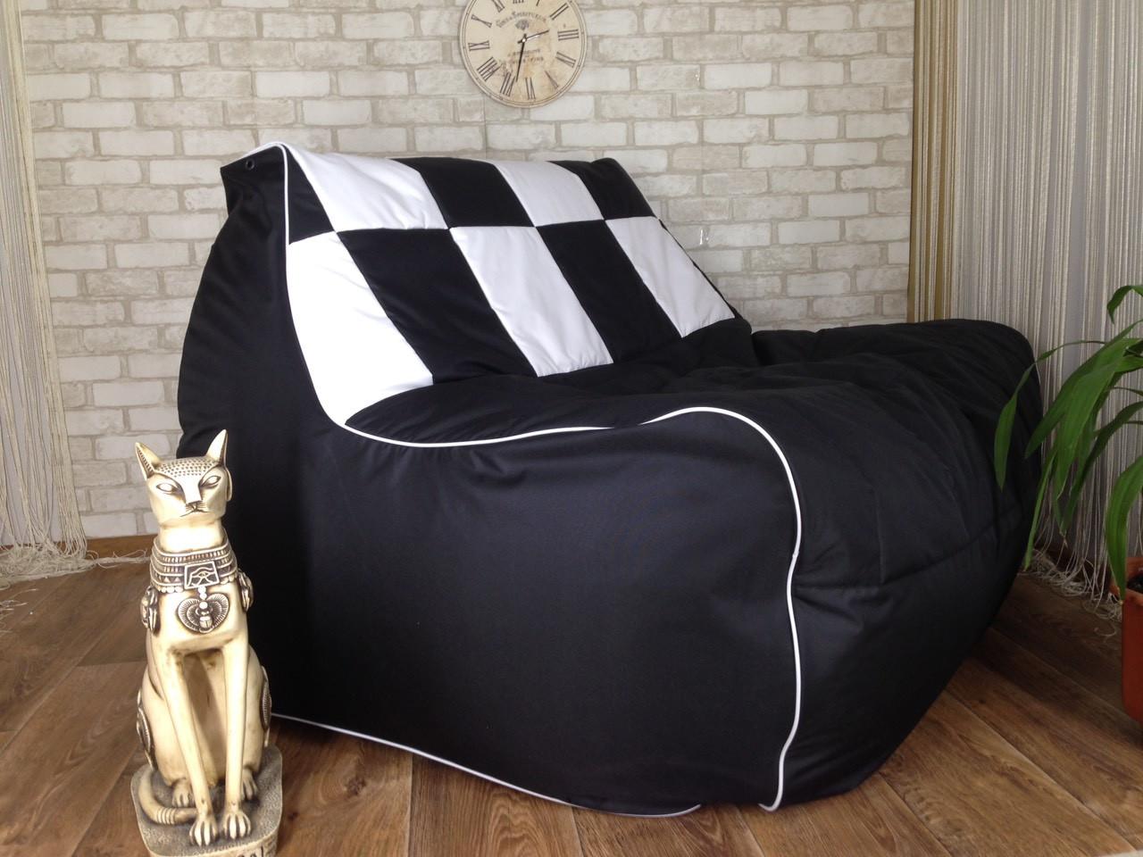 Бескаркасный диван  Люкс  кресло мешок ( Груша) мягкая мебель для детей  мягкий пуф Бесплатная доставка!
