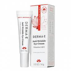 Крем для шкіри навколо очей з вітамінами А і Е 14 р Derma E США, офіційний сайт
