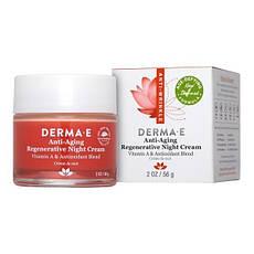 Антивіковий відновлюючий нічний крем c вітаміном А і антиоксидантами 56 р Derma E США, офіційний