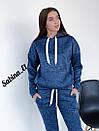Теплый спортивный костюм из ангоры на флисе с худи 7spt806, фото 3