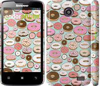 """Чехол на Lenovo A820 Пончики в глазури """"2876c-68"""""""