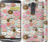 "Чехол на LG G3 dual D856 Пончики в глазури ""2876c-56"""