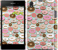 """Чехол на Sony Xperia Z1 C6902 Пончики в глазури """"2876c-38"""""""