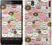 """Чехол на Sony Xperia Z C6602 Пончики в глазури """"2876c-40"""""""