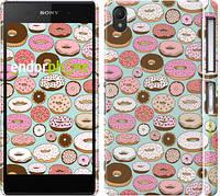 "Чехол на Sony Xperia Z2 D6502/D6503 Пончики в глазури ""2876c-43"""
