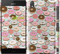 "Чехол на Sony Xperia Z3 dual D6633 Пончики в глазури ""2876c-59"""