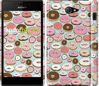 "Чехол на Sony Xperia M2 D2305 Пончики в глазури ""2876c-60"""