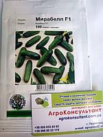 Семена огурца Мирабелл F1 (Seminis), 100 семян — ультраранний гибрид (40-45 дней, партенокарпик