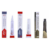 Набор составов THUYA для ламинирования ресниц и долговременной укладки бровей