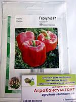 Семена перца Геркулес F1 (Clause/АГРОПАК+) 50 сем — среднеранний (70-75 дней), кубовидный, красный, сладкий