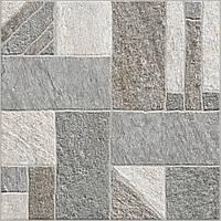 40х40 Керамическая плитка пол Misto Mattone  Мисто Матоне серый керамогранит