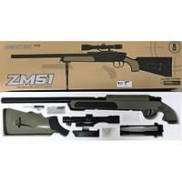 Снайперська гвинтівка на пульках (6мм) CYMA ZM 51T
