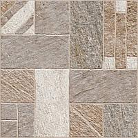 40х40 Керамічна плитка підлогу Misto Mattone Місто Матоні коричневий керамограніт, фото 1