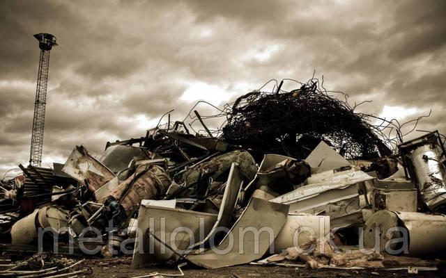 В связи спадением цен на черный металлолом упала и заготовка металлолома.