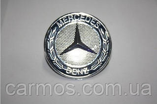Емблема / Позначка Мерседес на капот Mercedes Vito W638 (вито638) пластик