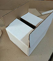 Коробка картонная белая