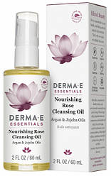 Поживне очищаючий масло троянди 60 мл Derma E США, офіційний сайт