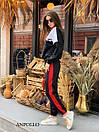 Женский спортивный костюм со свободным худи и штанами на манжетах 17spt809, фото 4