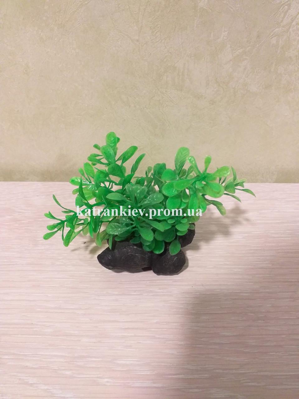 Штучне рослина в акваріум 7 см