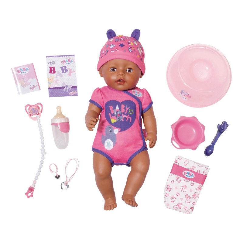 Пупс Мулатка Ethnic Baby Born Zapf Creation 824382