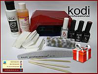 Стартовый набор для покрытие гель-лаком Kodi Professional Profi с УФ CCFL+LED гибридной лампой