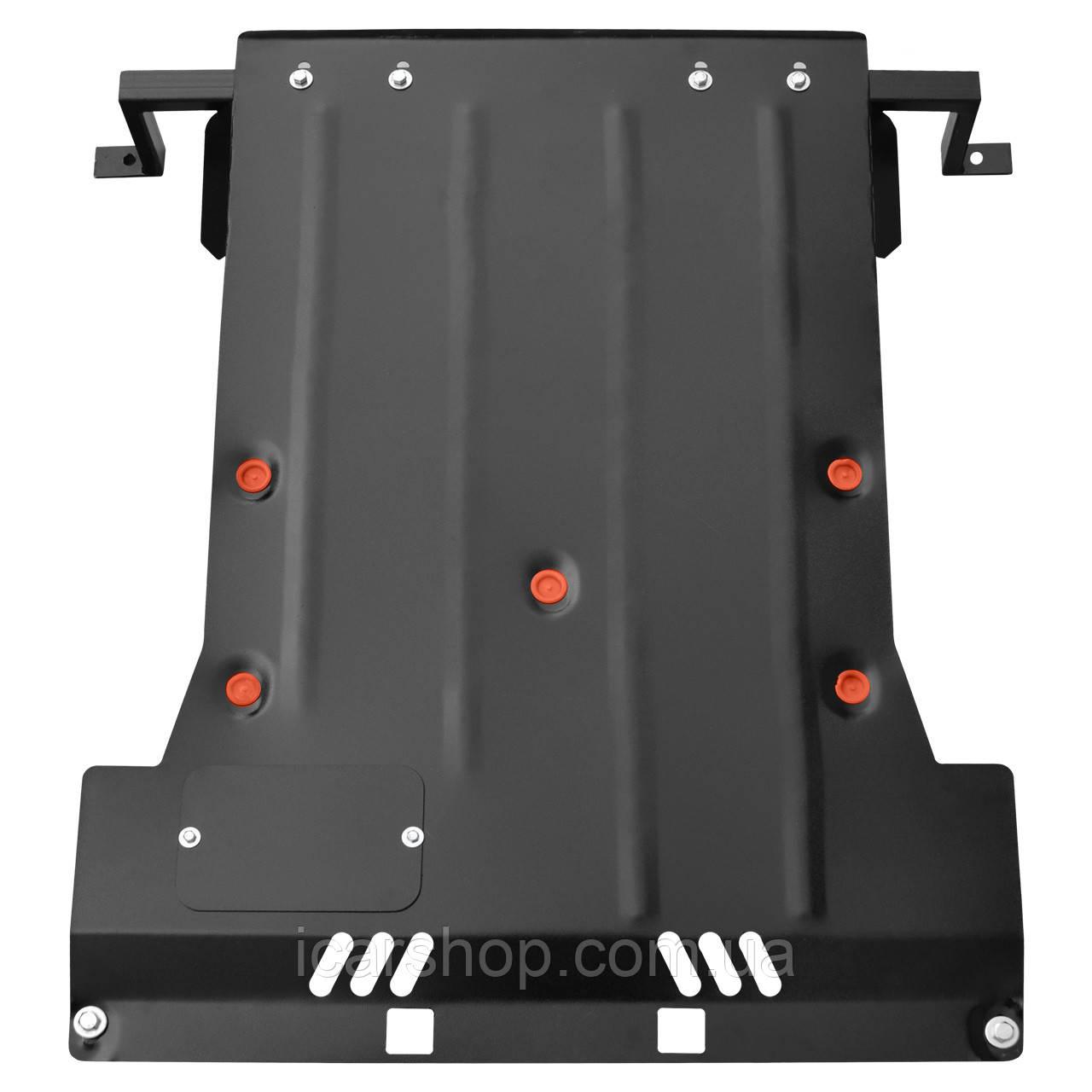 Защита Двигателя / КПП / Радиатора Mercedes Vito II (Viano) 03- (2,2CDI) Titan