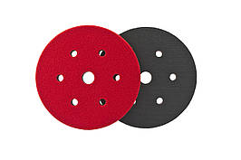 """150 мм. (6"""") Подкладка поролоновая велюр/велкро - Fleхipads 6+1 hole Soft interface pad GRIP (32710)"""
