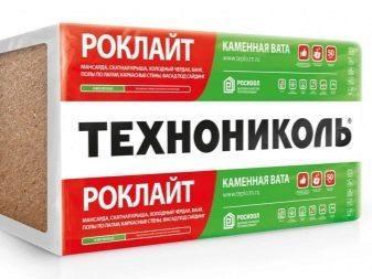 Базальтовый утеплитель - Роклайт МП (1200 х 600 х 50) мм 5.76 м2/1 упк ТехноНИКОЛЬ