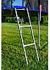 Батут Just Fun 490 см, цвет Multicolor, внешняя сетка + лестница, фото 3