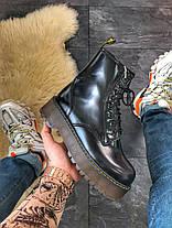 Женские ботинки Dr.Martens Jadone Black (Мех), фото 3