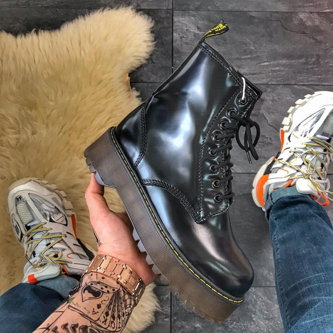 Женские ботинки Dr.Martens Jadone Black (Мех)