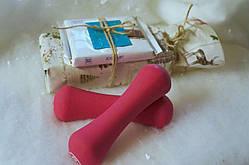 Корпоративные подарки на новый год #1 Малиновые гантели
