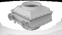 Рекуператор СПЕ для котла 500 кВт (Экономайзер, Утилизатор, фото 1